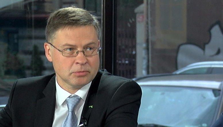 Dombrovskis par iespējām turpināt darbu Eiropas Komisijā