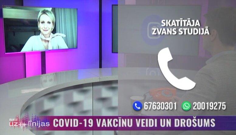 """Dace Zavadska par Skandināvijas valstīm, kas ir atteikušās no """"AstraZeneca"""" vakcīnas"""