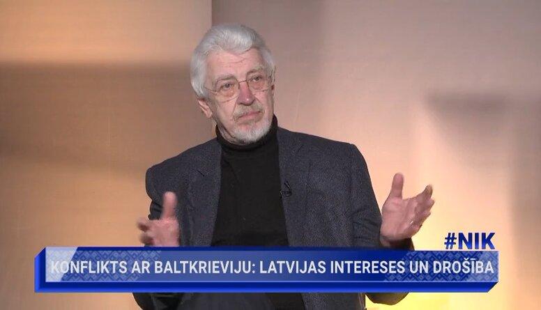 Kalniņš: Svarīgi ir parādīt baltkrievu tautai, ka mēs viņus atbalstām
