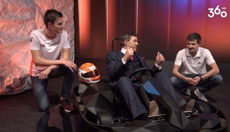 """Sarunu šovs par sportu """"Hattrick ar Puči"""" 1. sezona 2. epizode"""