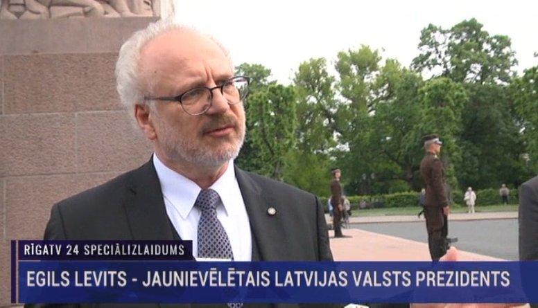 EKSKLUZĪVI: Intervija ar Valsts prezidentu Egilu Levitu