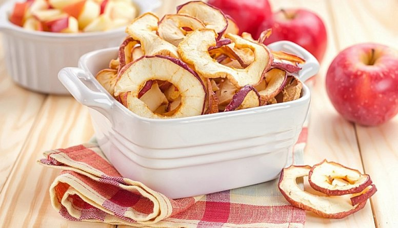 Žāvēti vai kaltēti āboli - veselīgs našķis!