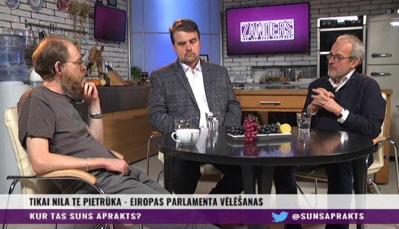 Viedokļi par Ušakova un Amerika kandidēšanu EP