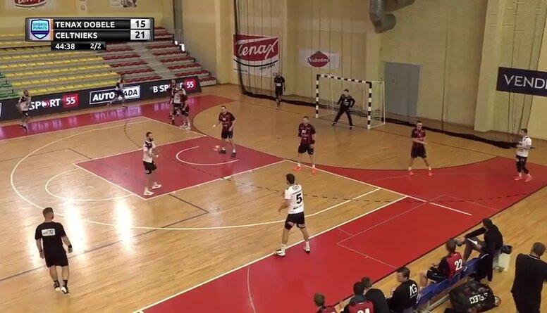 """""""Sporta Punkts"""" Latvijas Kauss handbolā 2021.Fināls vīriešiem, spēles ieraksts"""