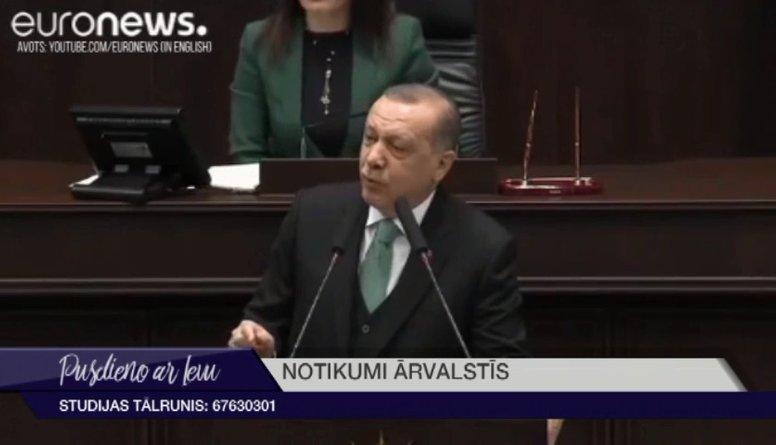 """""""Islāma valsts"""" draud Turcijas prezidentam"""
