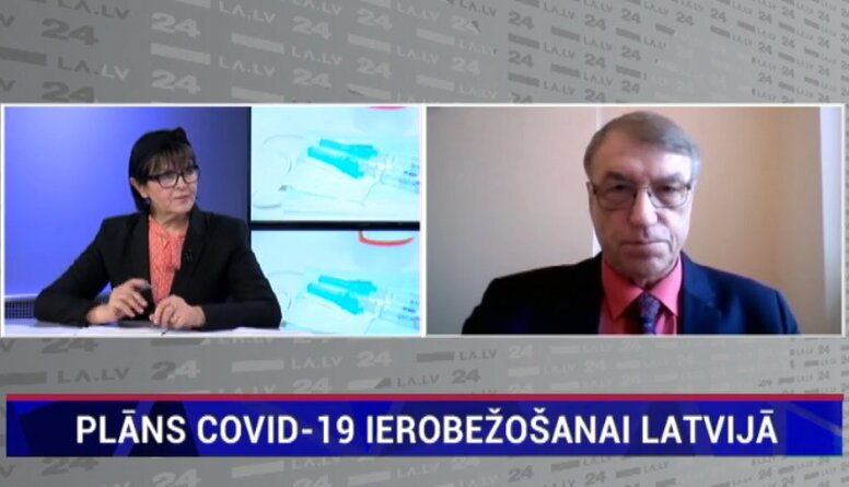 Plāns Covid-19 ierobežošanai Latvijā