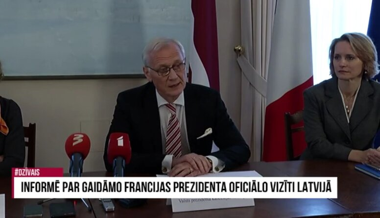 Andris Teikmanis par Francijas prezidenta oficiālās vizītes organizēšanu