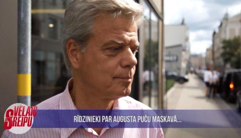Rīdzinieki dalās ar atmiņām par augusta puču Maskavā