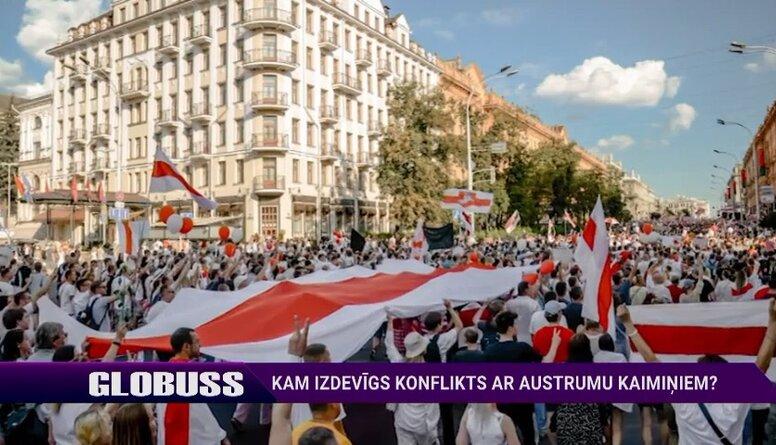 """Politologs skaidro, kādēļ Krievija vilcinās gāzt Baltkrievijas """"toksisko diktatoru"""""""