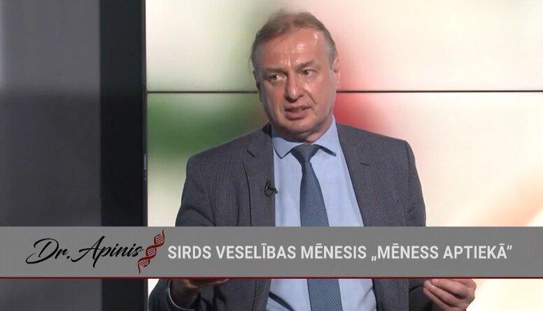 Andrejs Ērglis: Šobrīd vislielākās bēdas sagādā insulti