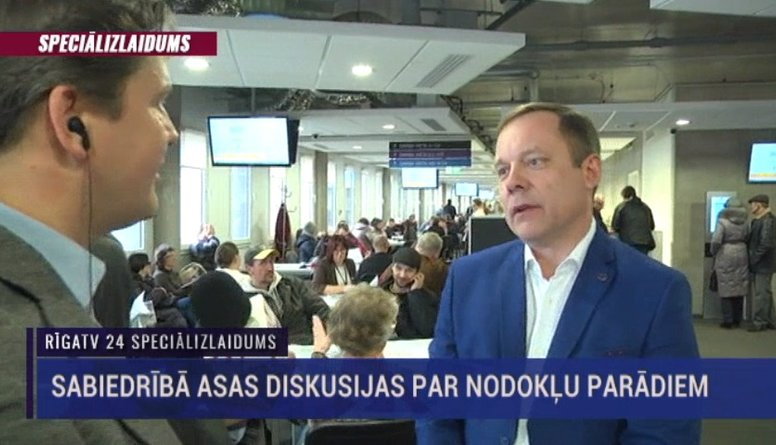 Speciālizlaidums: Sabiedrībā asas diskusijas par nodokļu parādiem