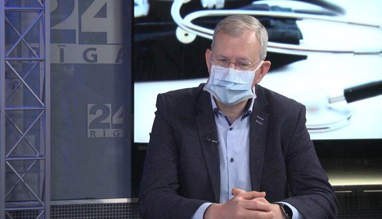 Jānis Eglītis par onkoloģisko pacientu vakcinēšanu pret Covid-19
