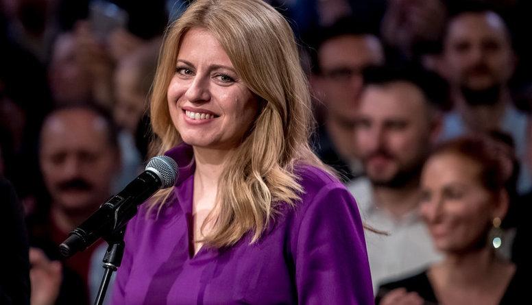 Slovākijā pirmo reizi vēsturē par prezidentu kļūst sieviete