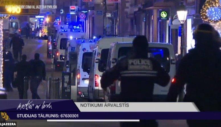 """""""Islāma valsts"""" uzņēmusies atbildību par slaktiņu Strasbūrā"""