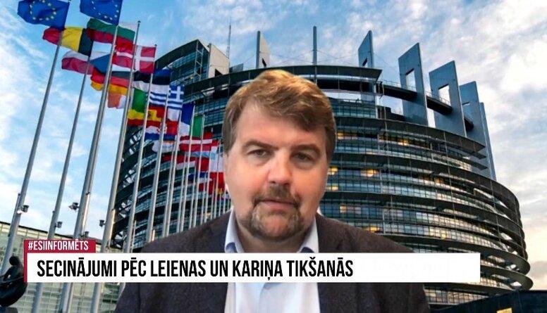 Kāds jautājums turpmāk būs EP un EK uzmanības centrā?