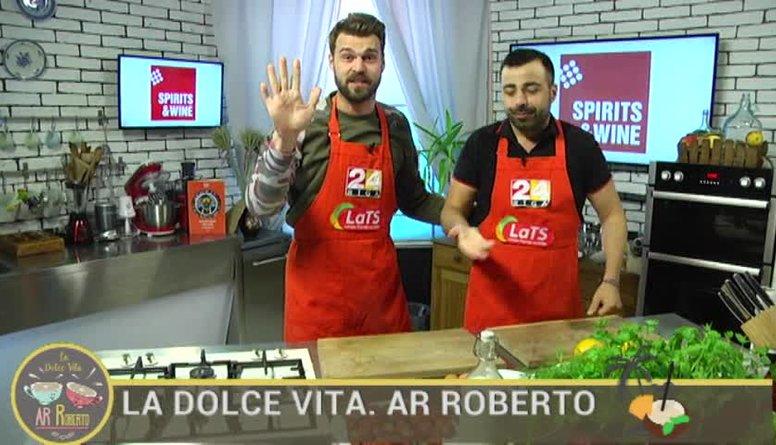 12.07.2017 La Dolce Vita. Ar Roberto 1. daļa