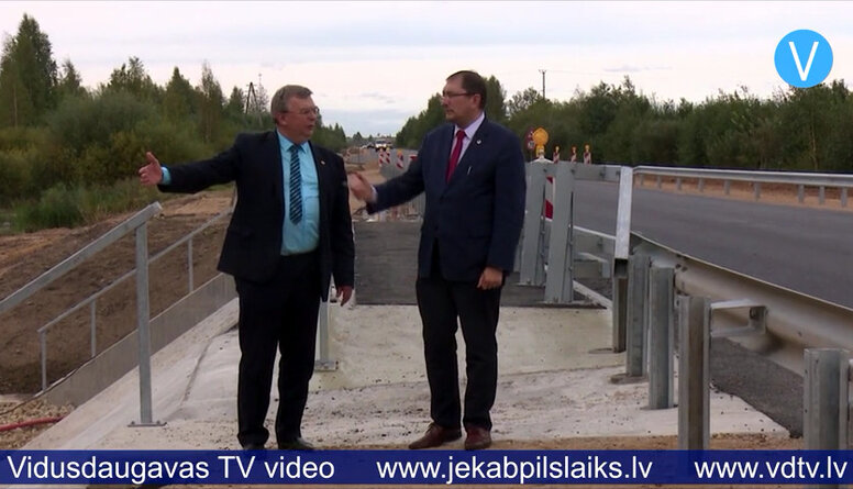 Satiksmes ministrs izzina aktuālās problēmas Jēkabpils novadā
