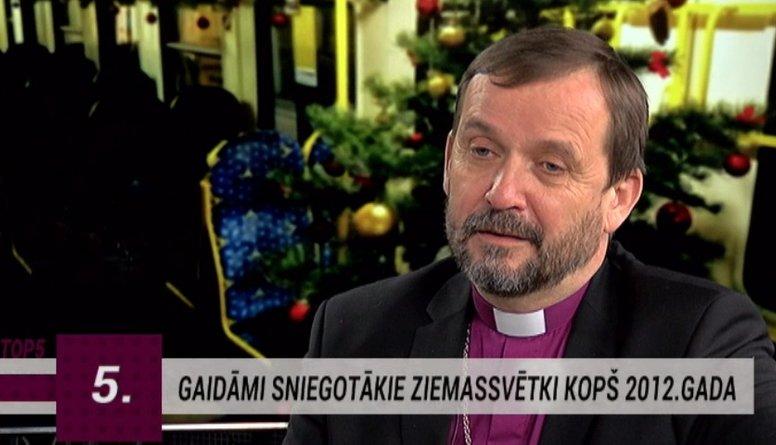 Vanags: Ziemassvētku centrā ir Kristus dzimšana