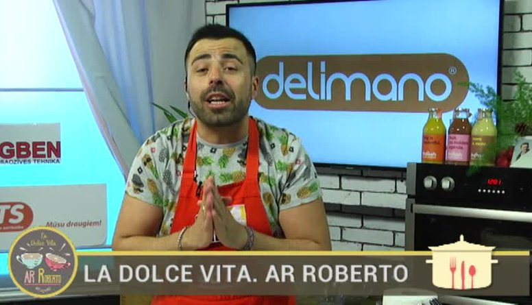 26.05.2017 La Dolce Vita. Ar Roberto 1. daļa