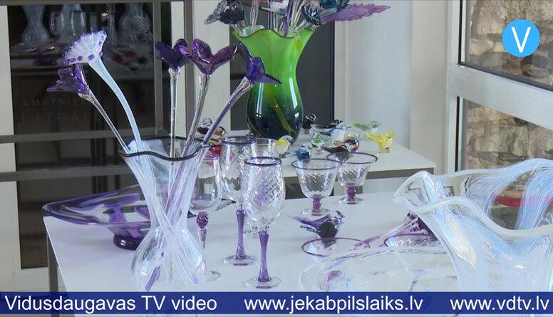 Līvānu stikla un amatniecības centrs meklē veidus, kā uzrunāt apmeklētājus