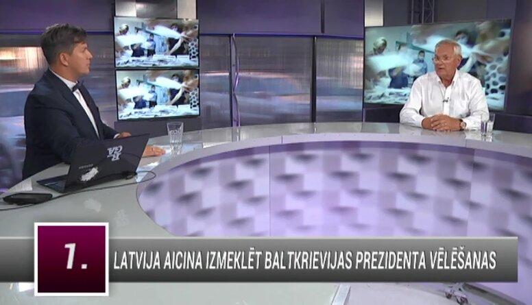 """Baltkrievijas prezidenta vēlēšanas: Lukašenko nepieļaus """"Maidānu"""""""