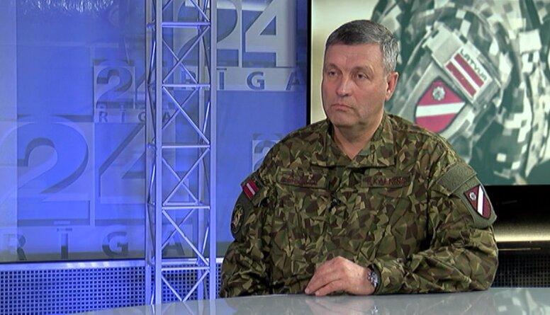 Kalniņš: Daugavpilī paredzētā 4. maija militārā parāde pārcelta uz 2021. gadu