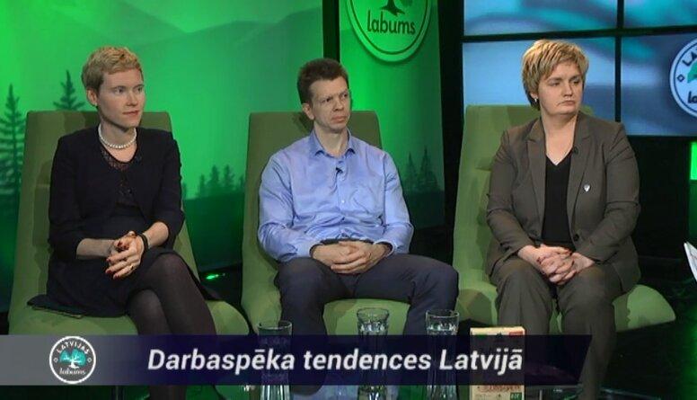 Darbaspēka tendences Latvijā