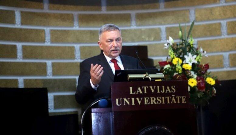 """""""Saskatāma divkosība no JKP puses,"""" Stepaņenko par LU rektora jautājumu"""