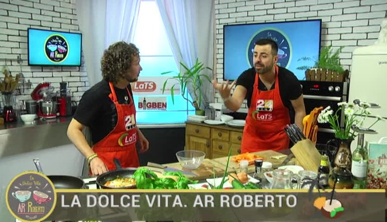 04.07.2017 La Dolce Vita. Ar Roberto 2. daļa