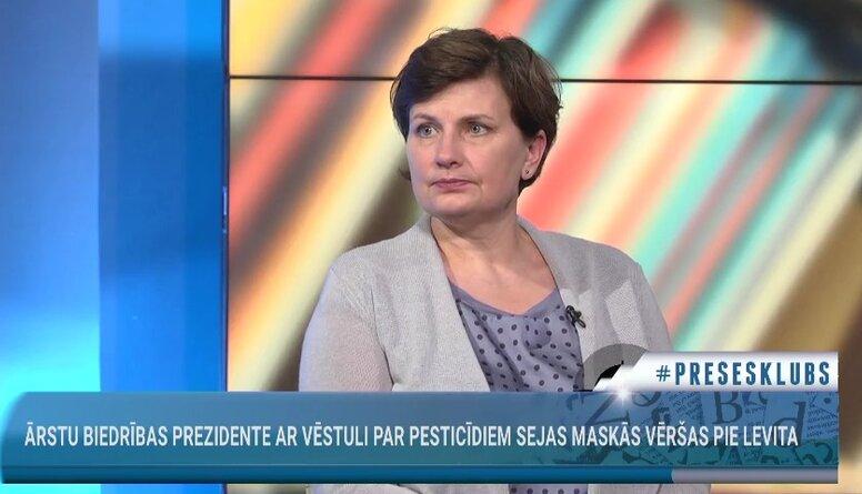 Ilze Viņķele komentē LĀB prezidentes vēstuli par pesticīdiem sejas maskās