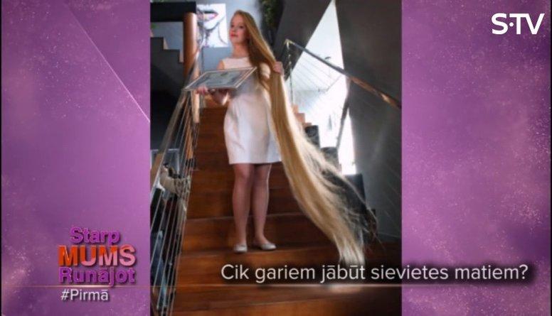 Cik gariem matiem jābūt sievietei?