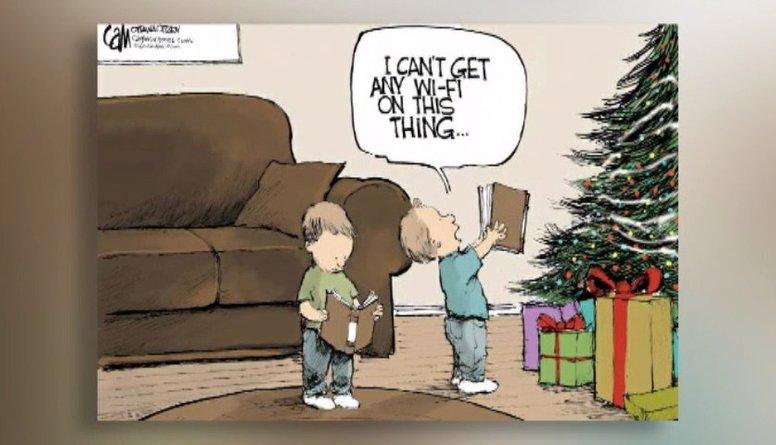 Amizanti: Mūsdienu Ziemassvētku problēmas atainotas karikatūrās!
