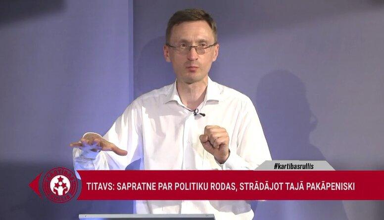 Arnis Kaktiņš par iepriekšējo Saeimas vēlēšanu iznākumu