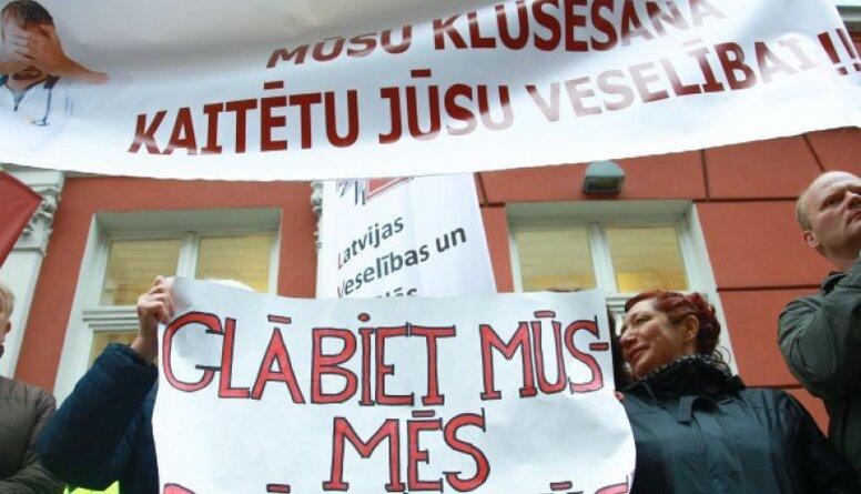 Viņķele: Ticu, ka mediķu streiks var ietekmēt sarunas par budžetu
