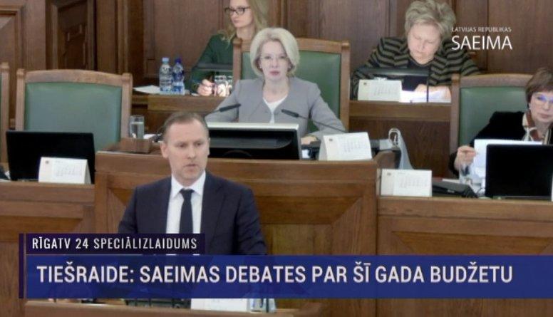 Speciālizlaidums: Saeima lemj par 2019. gada valsts budžetu 6. daļa