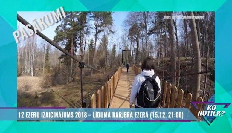 12 ezeru izaicinājums 2018 - Līduma karjera ezerā