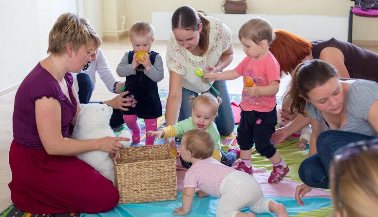 Krāslavas māmiņu klubs - atbalsts jaunajiem vecākiem