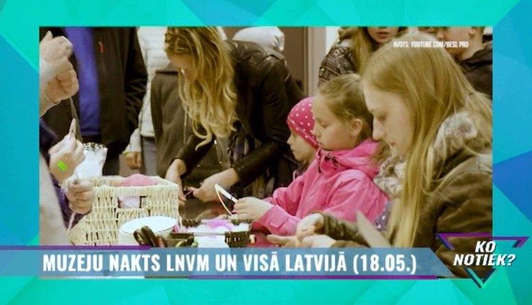 Muzeju nakts LNVM un visā Latvijā