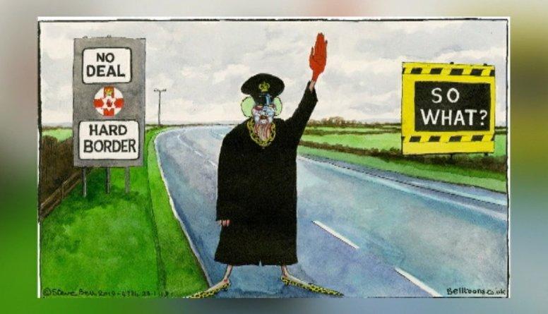 """Karikatūru apskats: Jauns pavērsies """"Brexit"""" lietā"""
