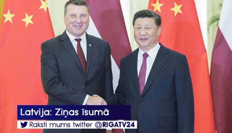 Vējonis Pekinā ticies ar Ķīnas premjerministru