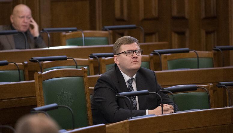 Kāpēc Juri Pūci neievēlēja nevienā Saeimas komisijā?