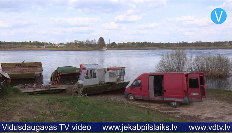 Sezonu nav uzsākušas Daugavas pārceltuves