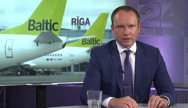 """Andris Skride komentē """"airBaltic"""" teju 185 miljonus eiro lielos zaudējumus"""