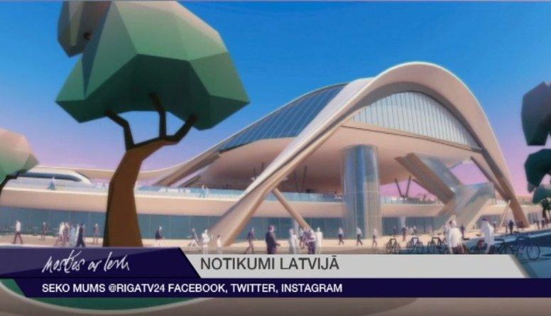Kā izskatīsies Rīgas Centrālā stacija pēc 'Rail Baltica'?