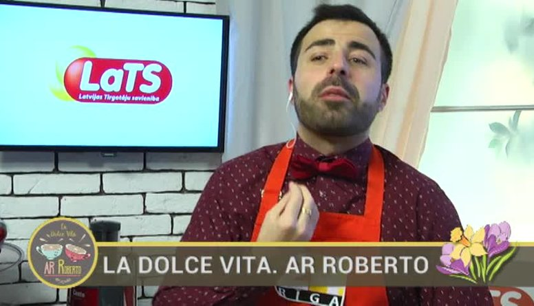 08.03.2017 La Dolce Vita. Ar Roberto 1. daļa