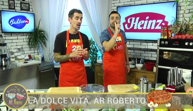 17.11.2017 La Dolce Vita. Ar Roberto 2. daļa