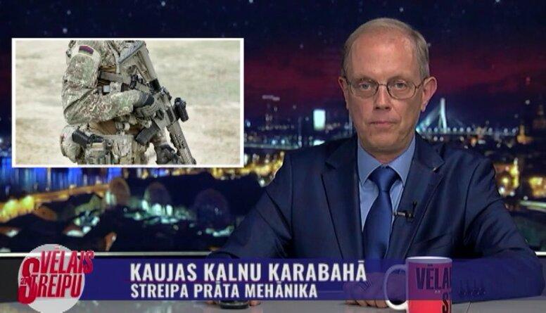 Streipa prāta mehānika: kaujas Kalnu Karabahā