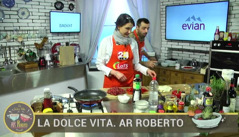 04.04.2017 La Dolce Vita. Ar Roberto 2. daļa