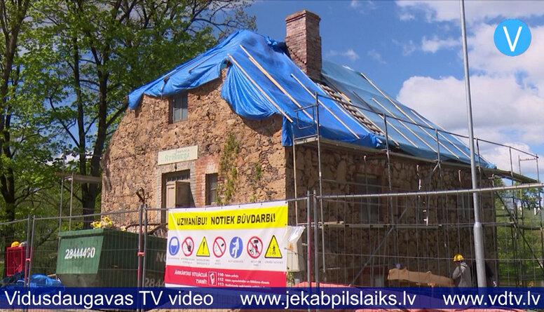 Atjauno Krustpils pili