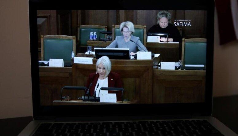 Liepiņa: Ar E-Saeimu turpināsies demokrātijas zagšana